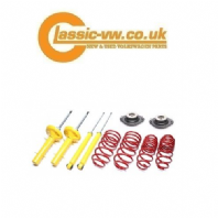 Mk1 Golf Lowering Springs & Dampers With Top Mounts 60/40 Jetta, Scirocco